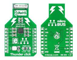 Mikro BUS Thunder click od  MikroElektroniky